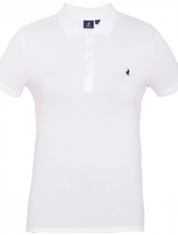 Margot Golfer SS White